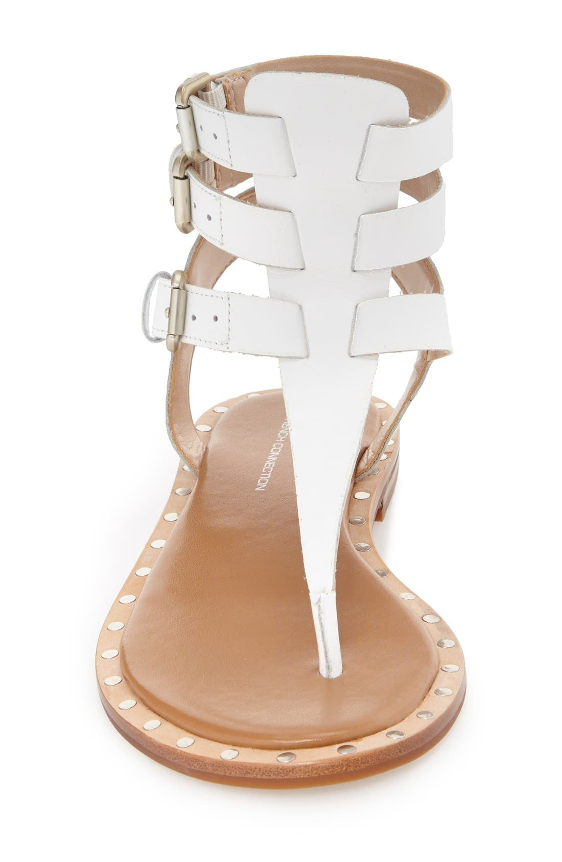 Alternate Image 6  - French Connection 'Imanna' Flat Gladiator Sandal (Women)