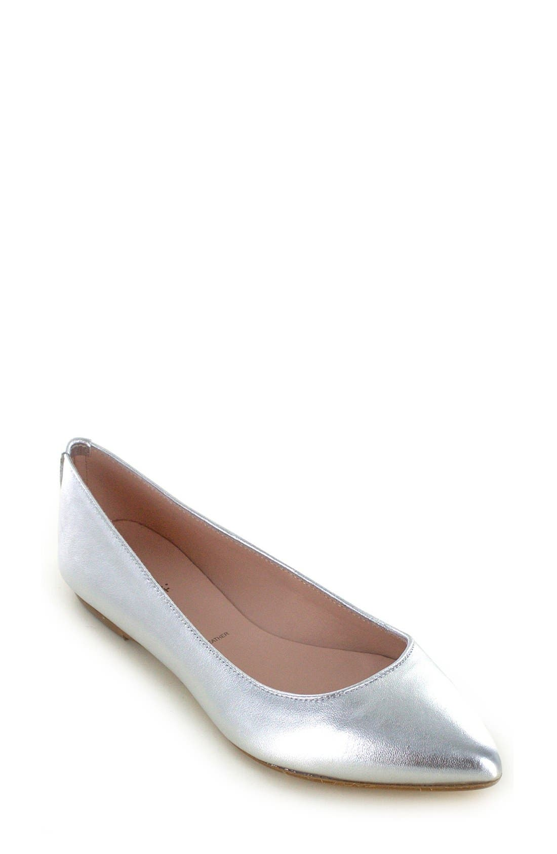 Main Image - Summit 'Kamora' Pointy Toe Flat (Women)