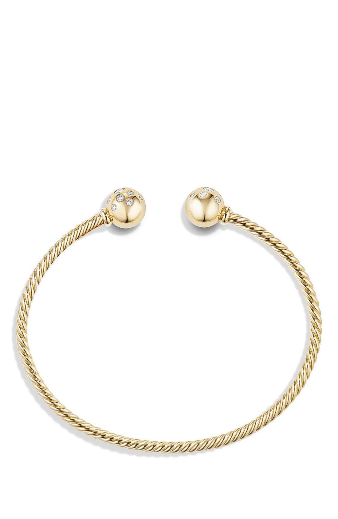 Alternate Image 2  - David Yurman 'Solari' Bracelet with Diamonds in 18K Gold
