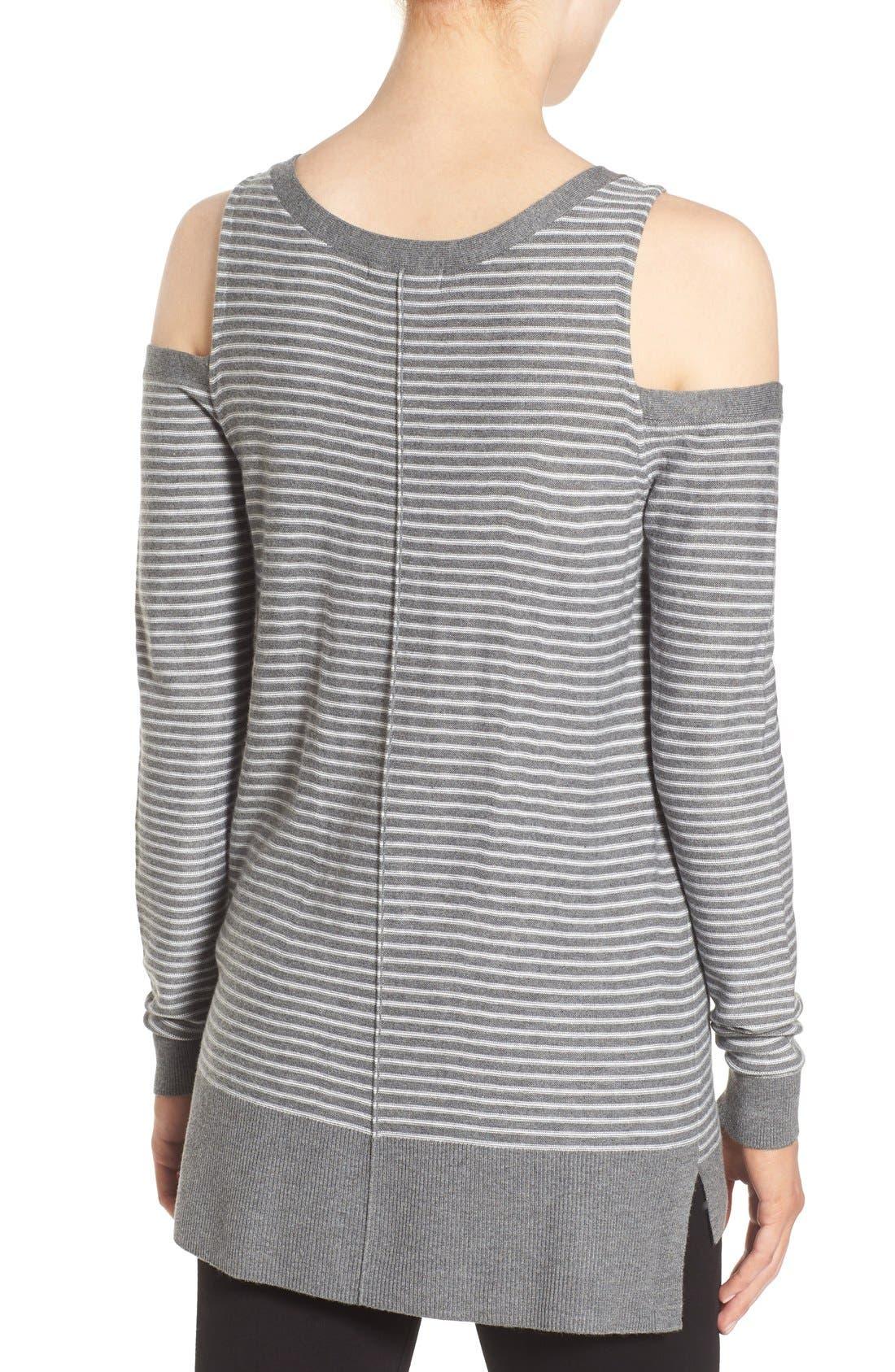 Alternate Image 2  - Trouvé Cold Shoulder Sweater