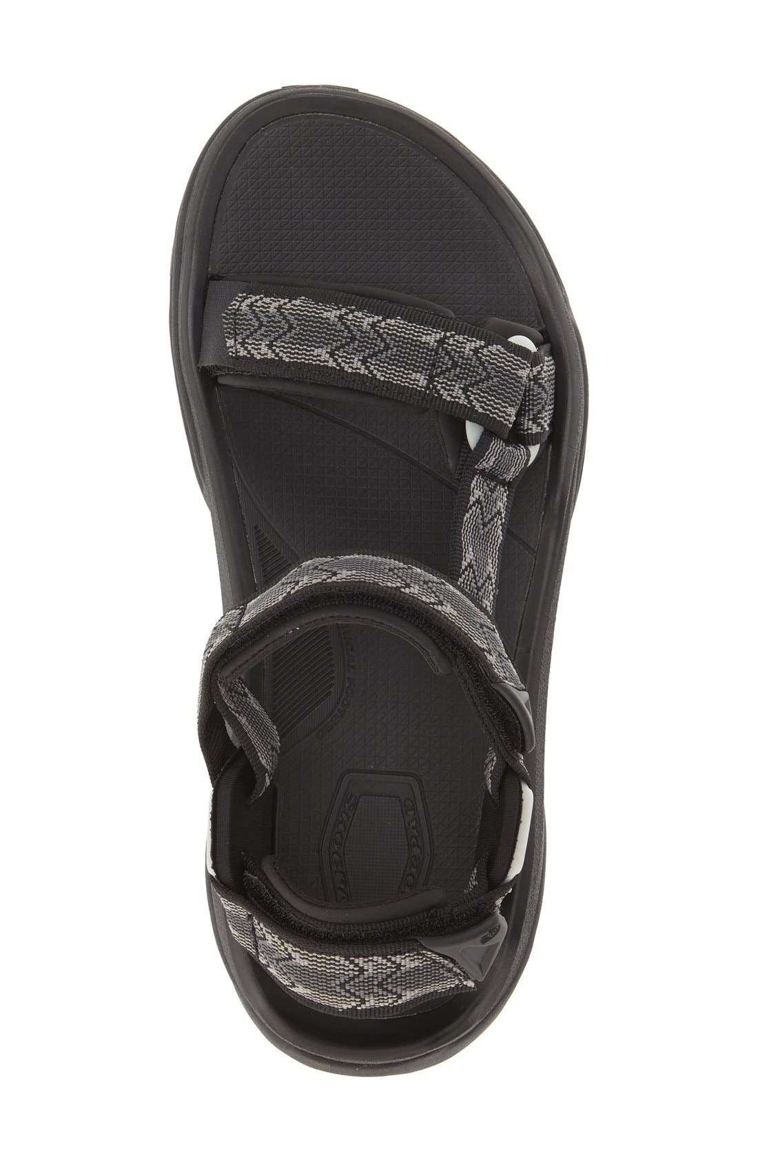 'Terra Fi 4' Sandal,                             Alternate thumbnail 3, color,                             Cross Terra Black
