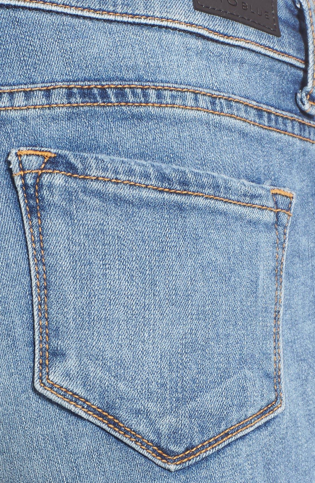 Alternate Image 6  - STS Blue Distressed Cutoff Denim Shorts