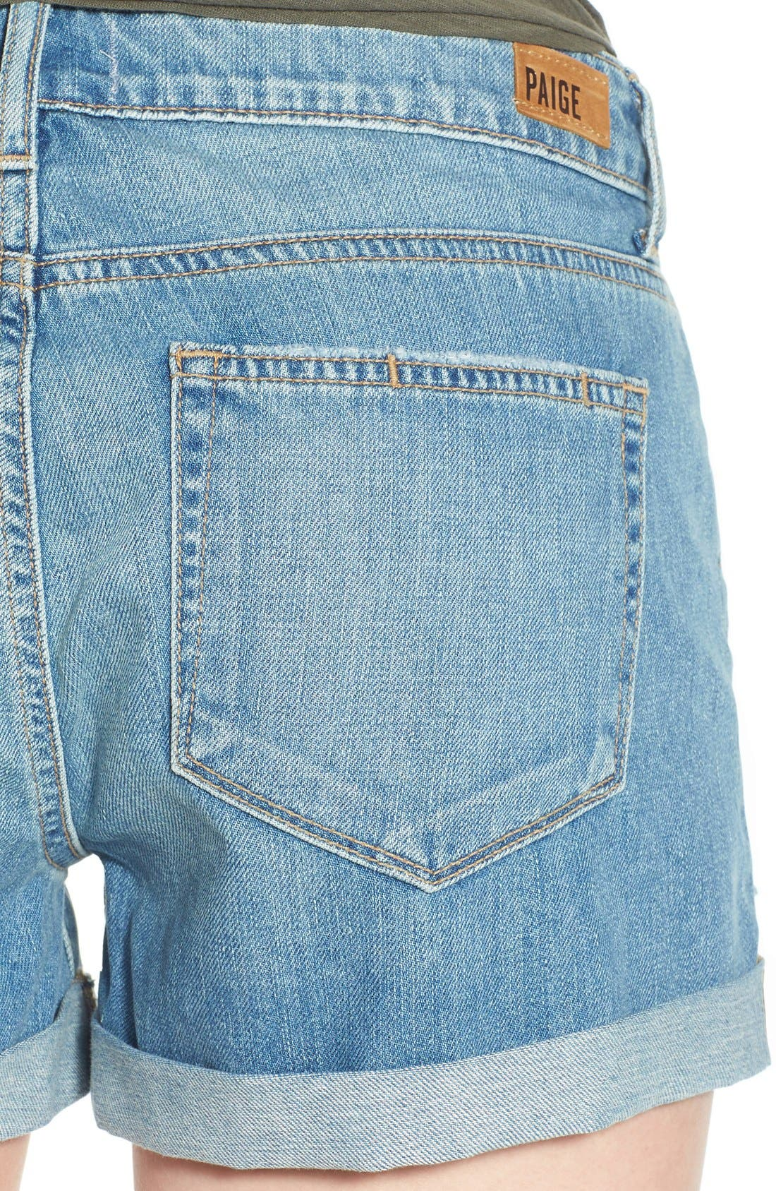Alternate Image 4  - PAIGE 'Jimmy Jimmy' Denim Shorts (Annora)