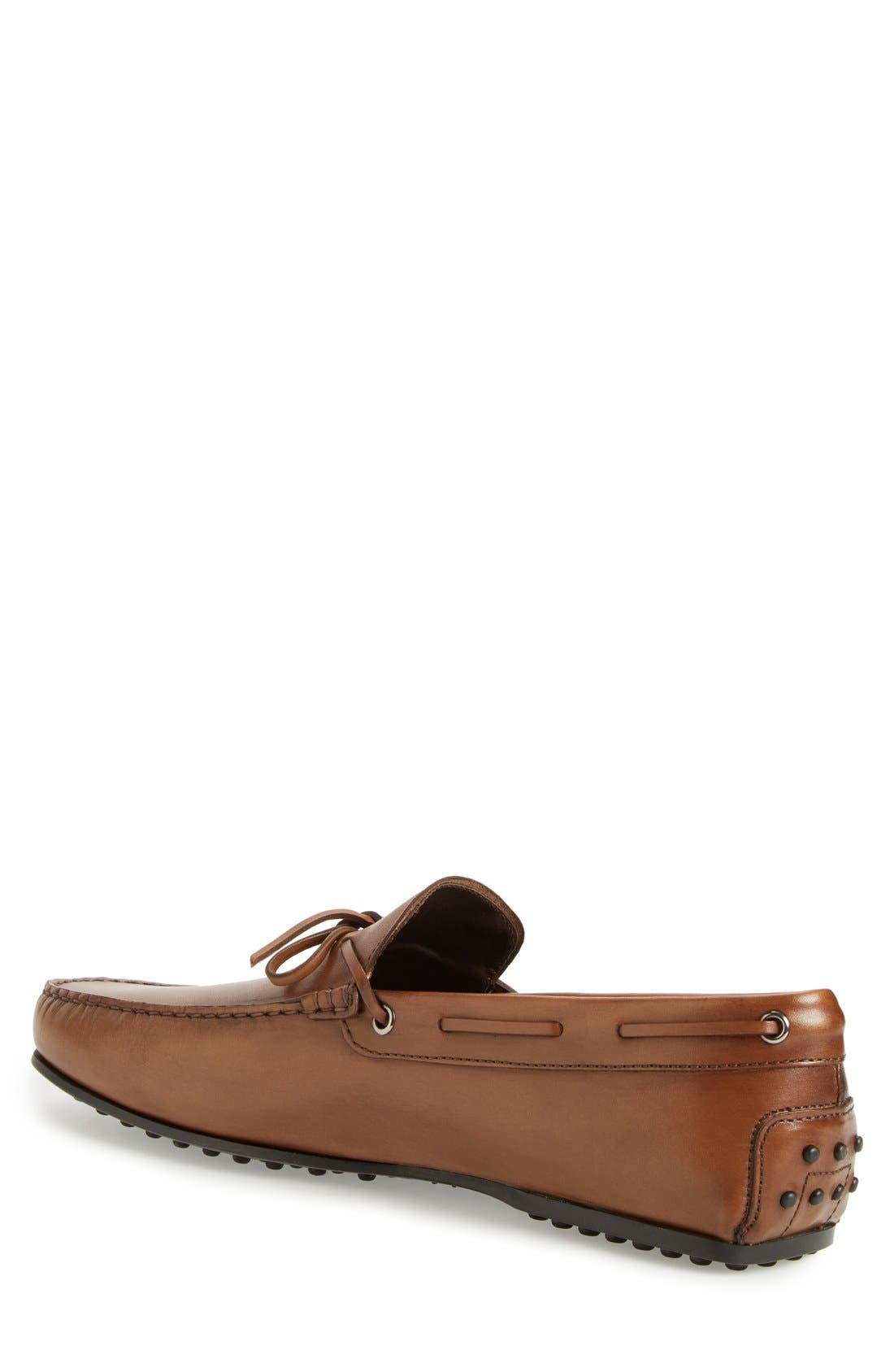 Alternate Image 2  - Tod's 'City Gommini' Tie Front Driving Moccasin (Men)
