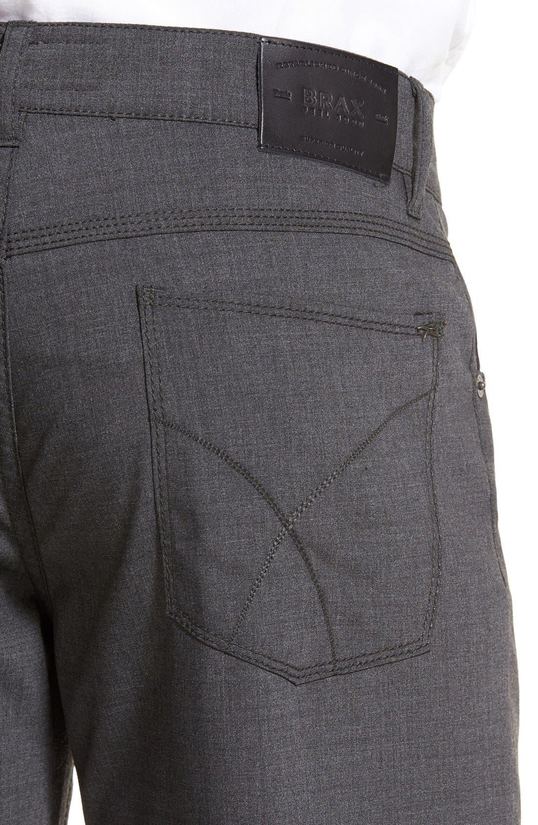 Alternate Image 4  - Brax 'Manager' Five-Pocket Wool Pants