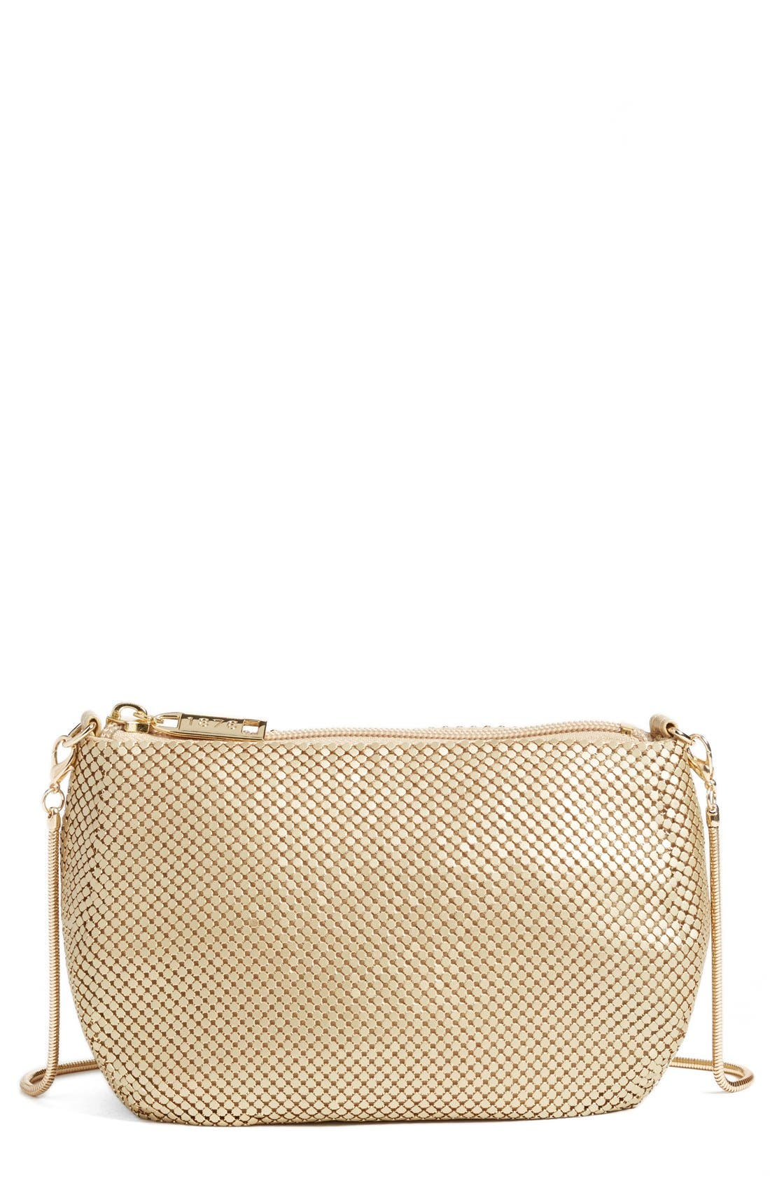 Whiting & Davis 'Matte' Mesh Crossbody Bag