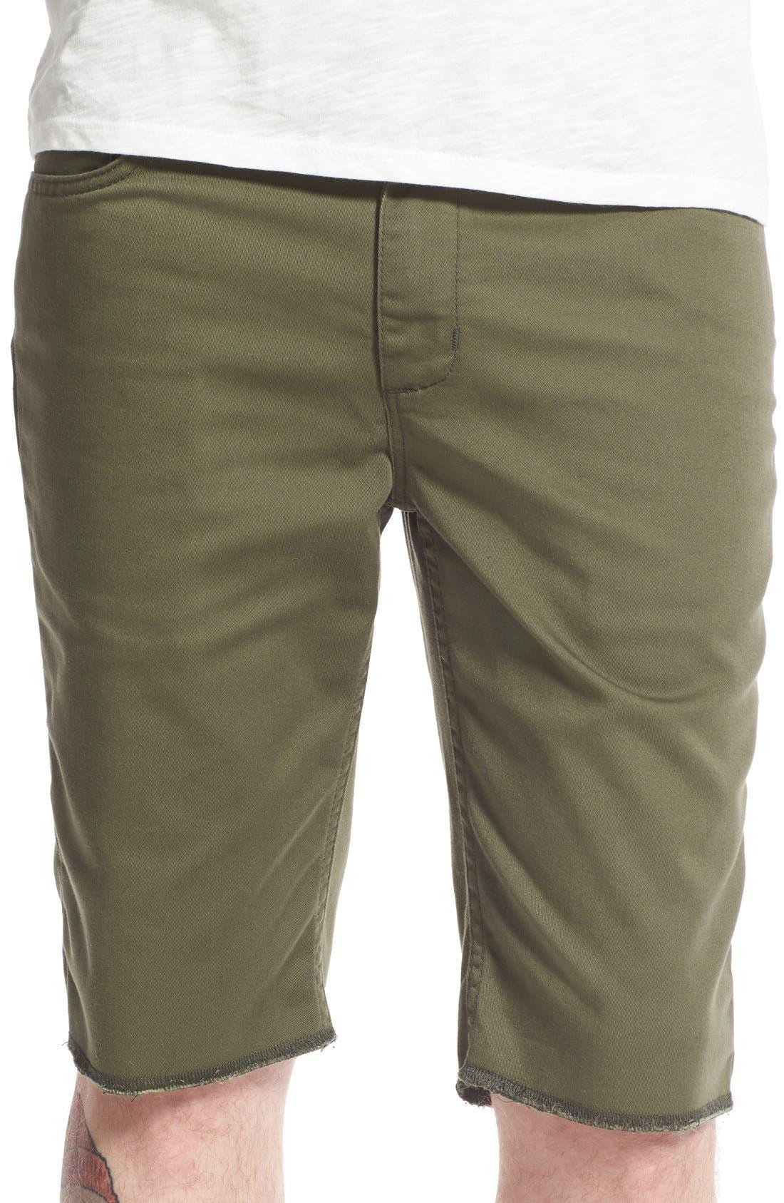 'Covina II - Anthony Van Engelen' Twill Shorts,                             Main thumbnail 1, color,                             Grape Leaf