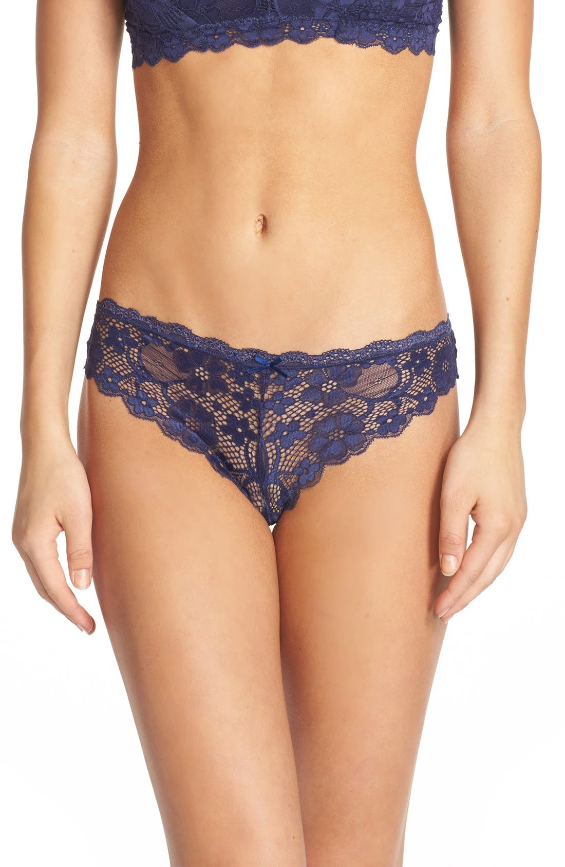 Honeydew Intimates Camellia Lace Thong