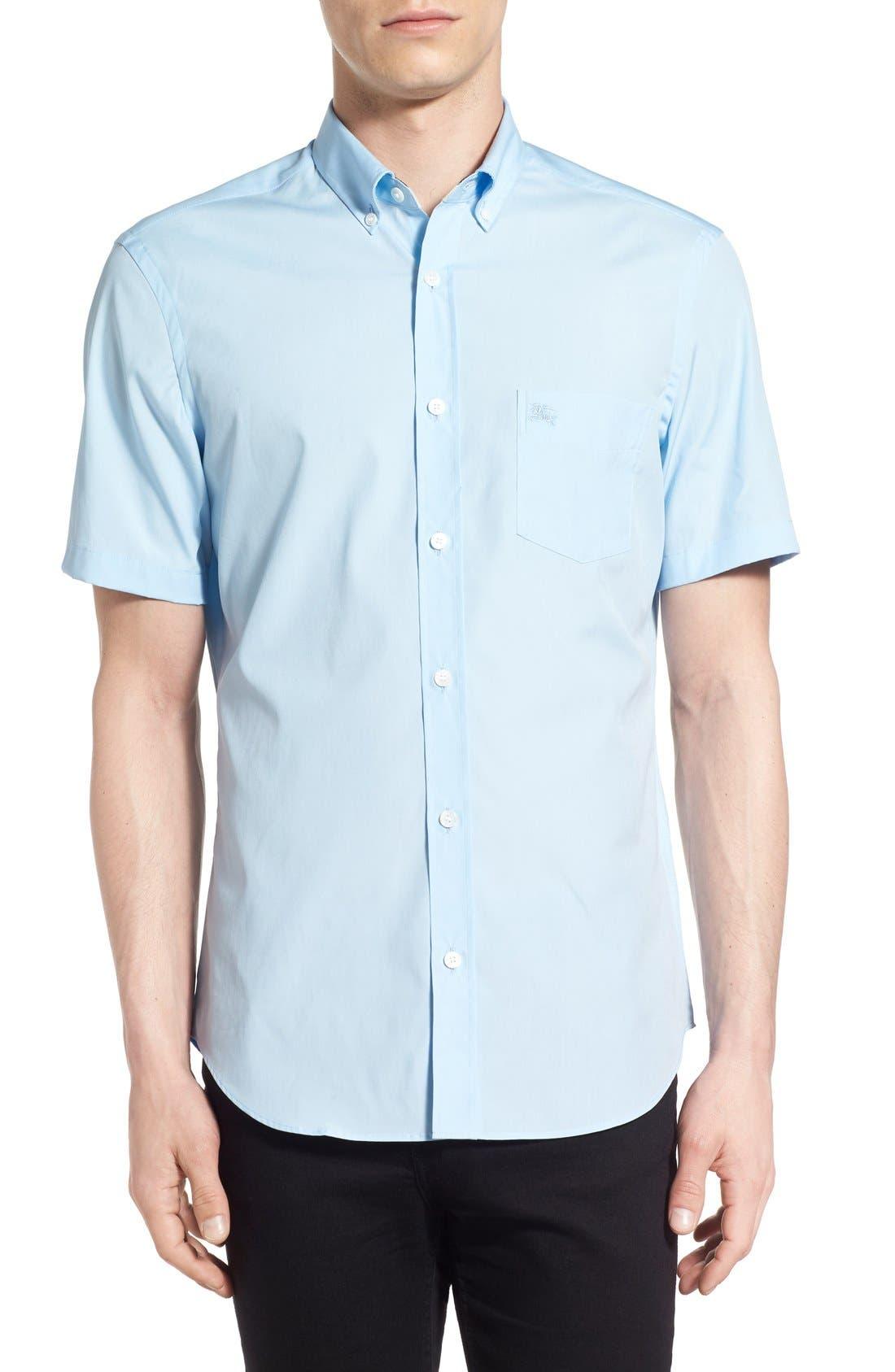 Cambridge Aboyd Sport Shirt,                         Main,                         color, Pale Blue