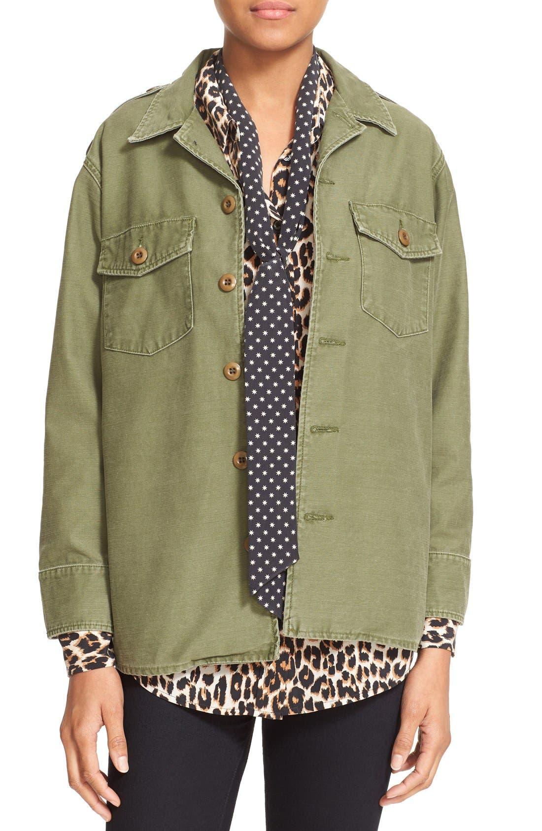 Main Image - Kate Moss for Equipment 'Major' Shirt Jacket