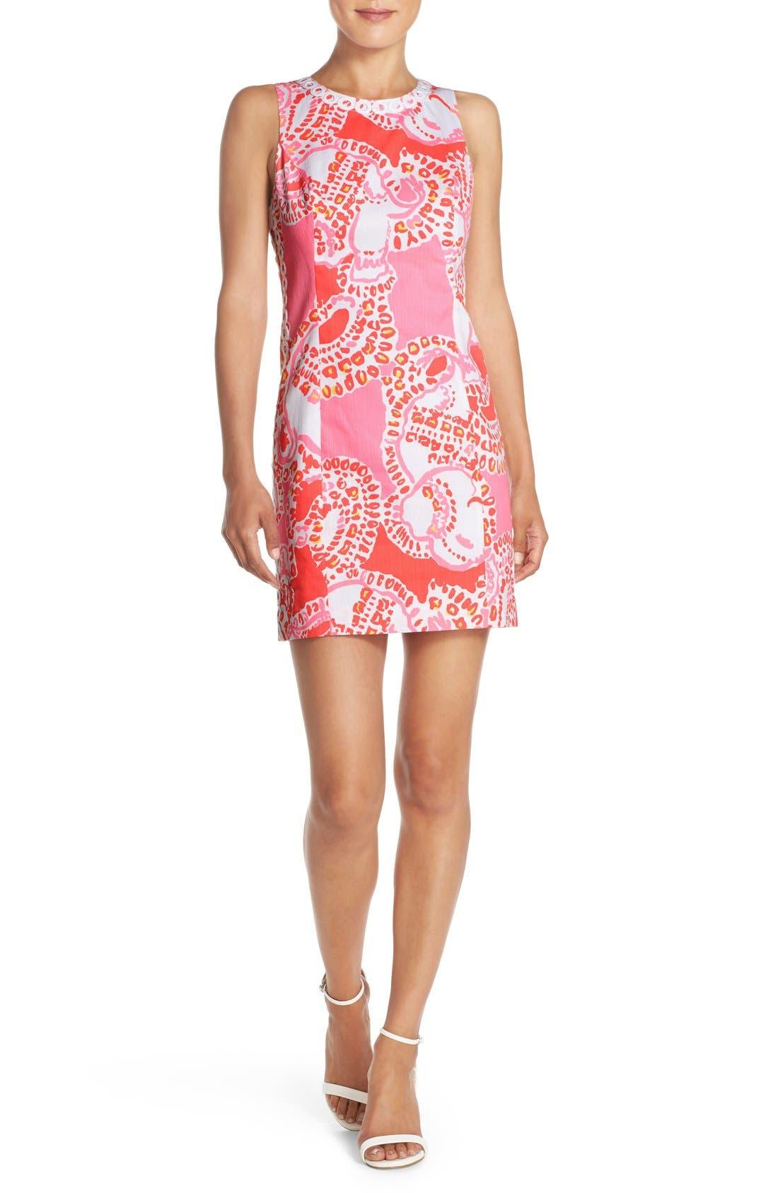 Alternate Image 4  - Lilly Pulitzer® 'Mila' Print Cotton Shift Dress