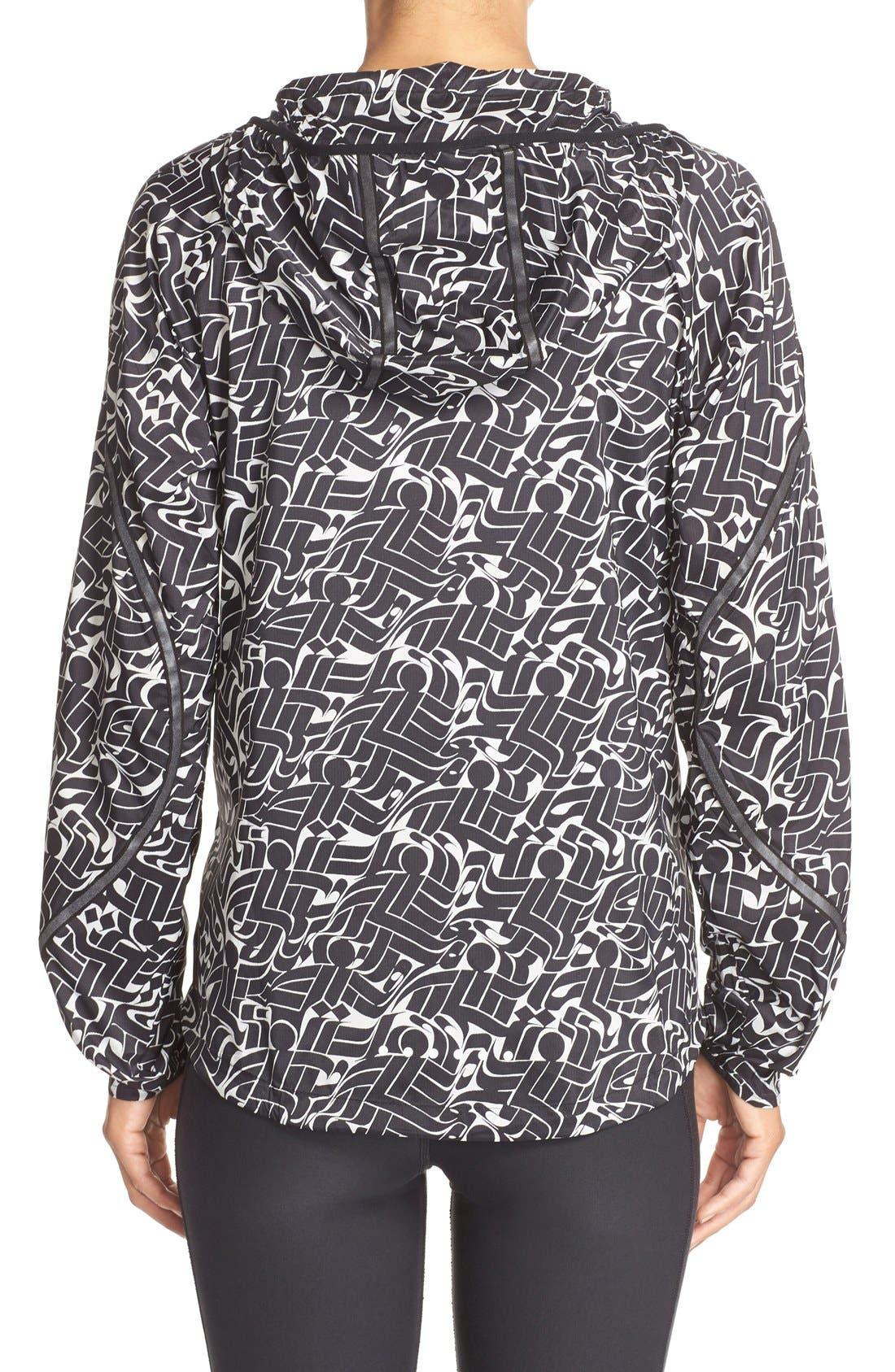 Alternate Image 2  - Nike Shield Hooded Windbreaker Jacket