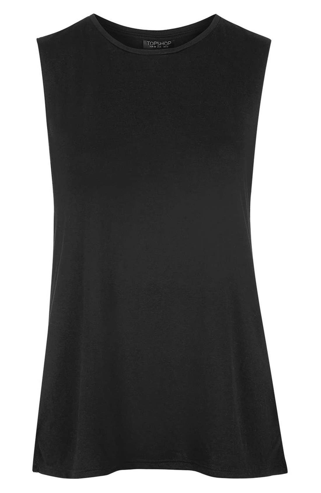 Alternate Image 5  - Topshop 'Barry' Jersey Tank