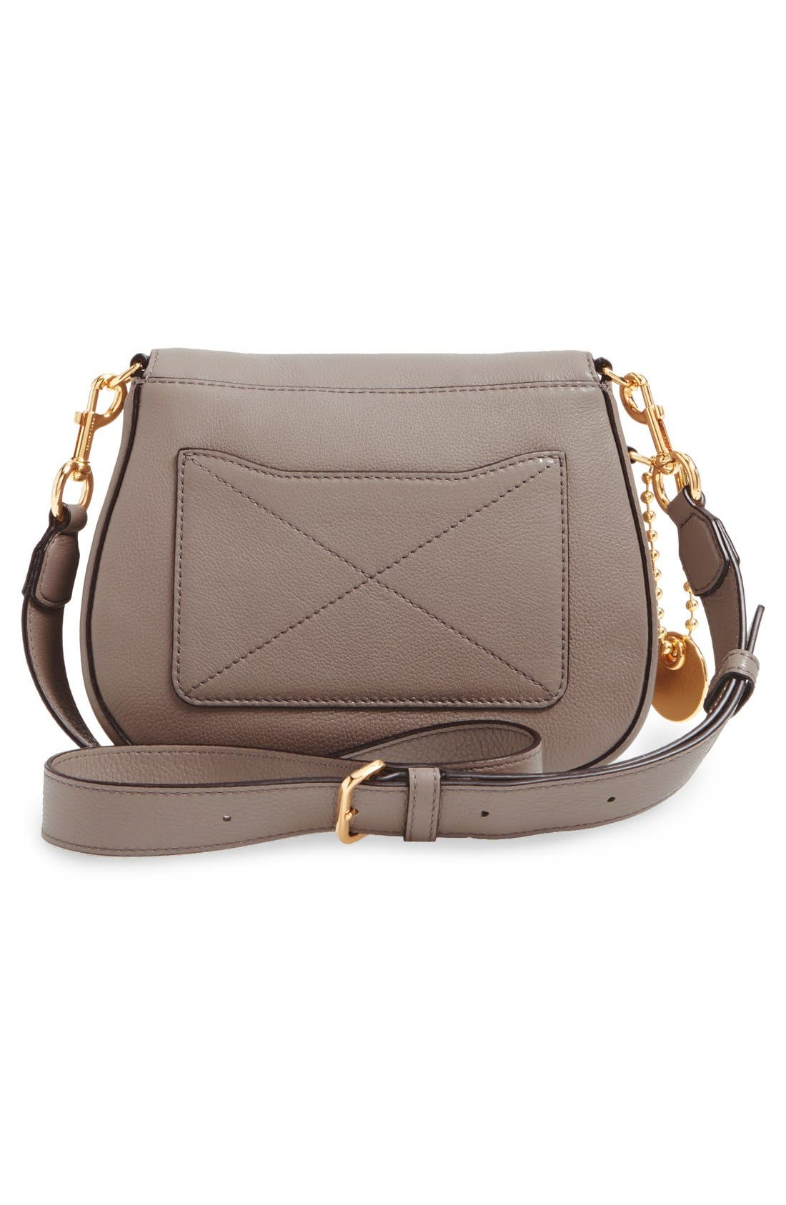 Alternate Image 5  - MARC JACOBS Small Recruit Nomad Pebbled Leather Crossbody Bag