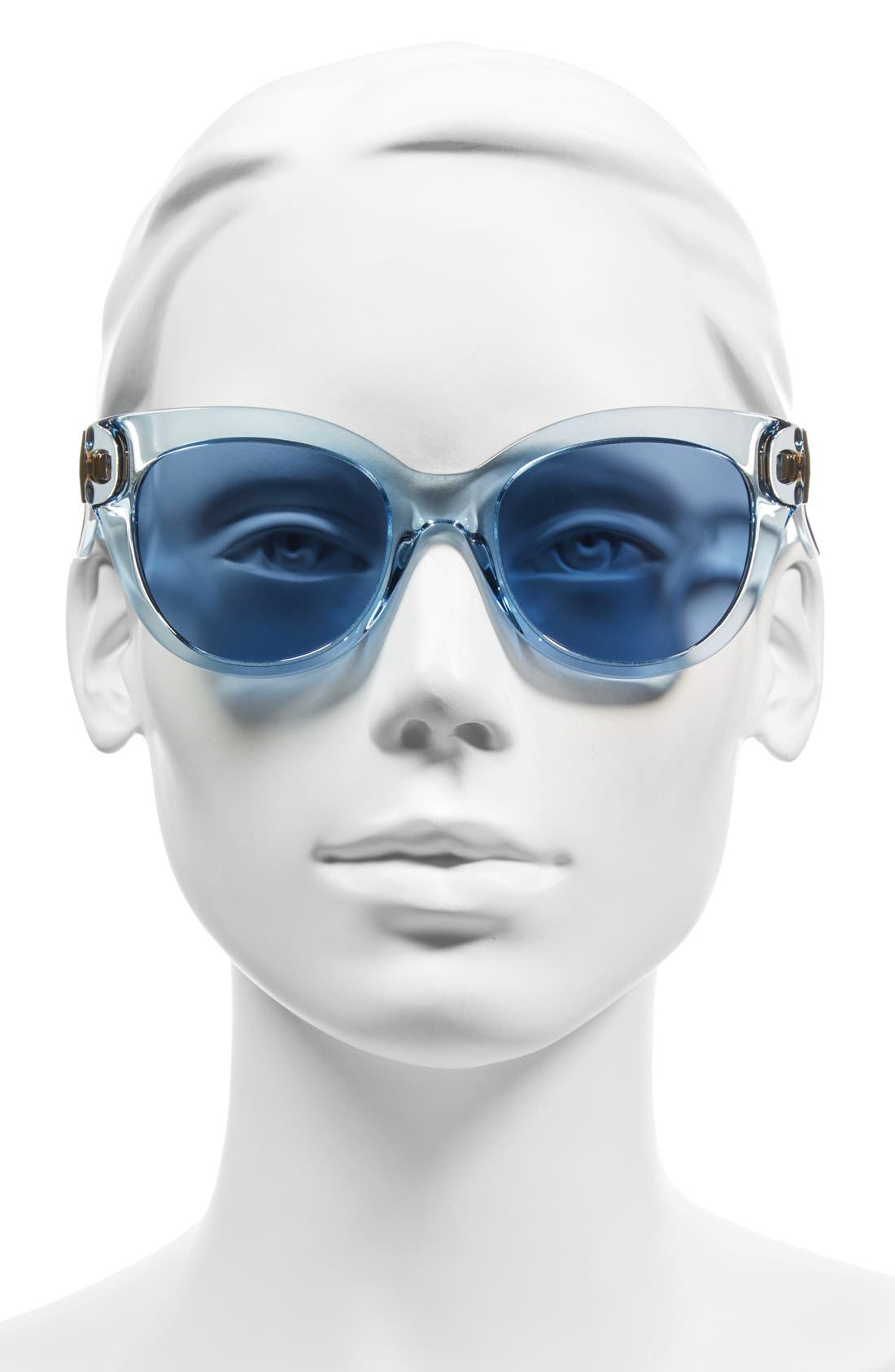 'sharlots' 52mm sunglasses,                             Alternate thumbnail 2, color,                             Blue