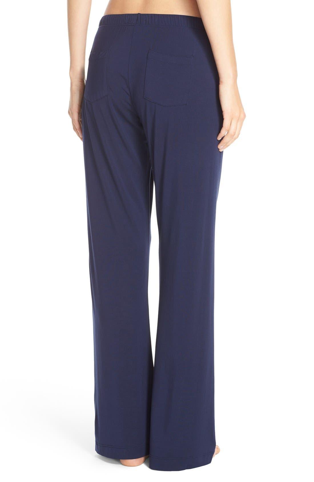Lounge Pants,                             Alternate thumbnail 2, color,                             Peacoat