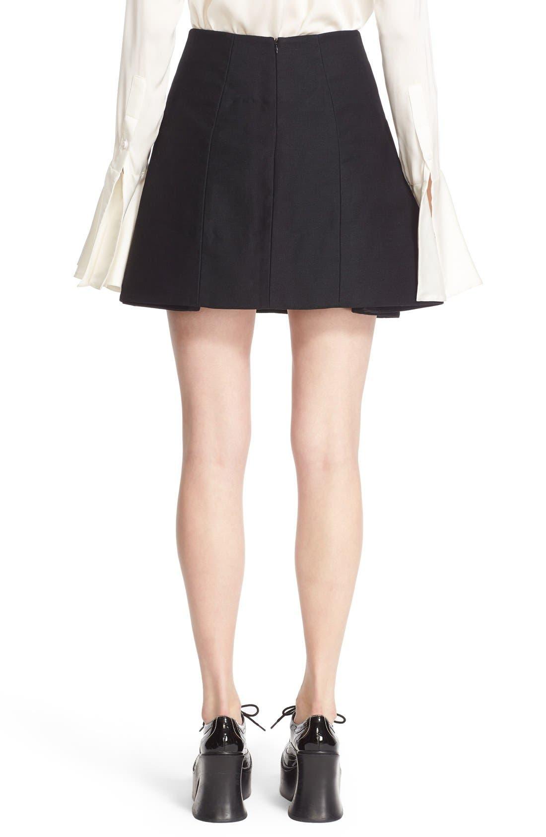 Alternate Image 2  - ELLERY 'Helena' Eyelet Detail Miniskirt