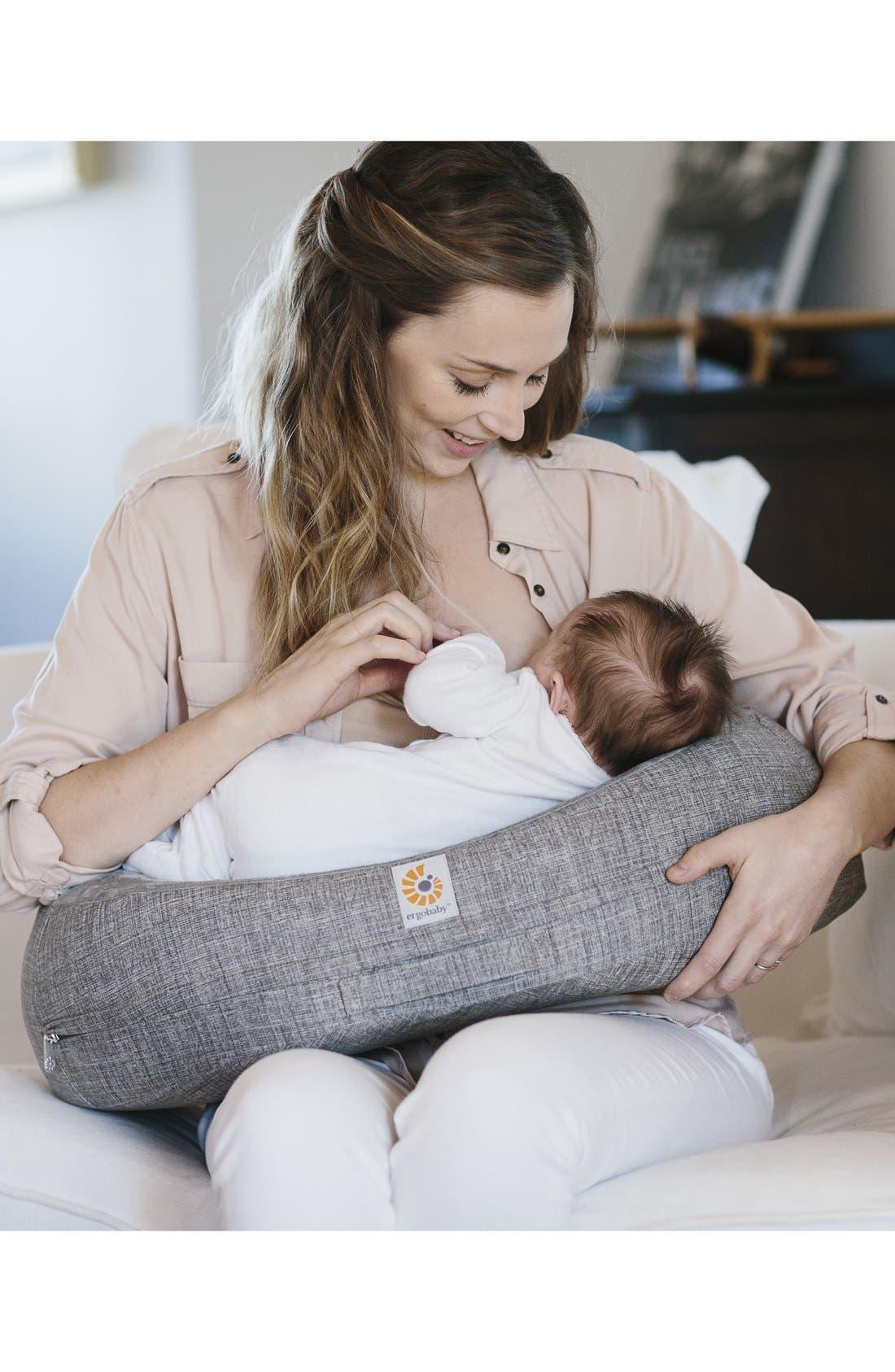 Alternate Image 5  - ERGObaby 'Natural Curve™' Nursing Pillow Cover