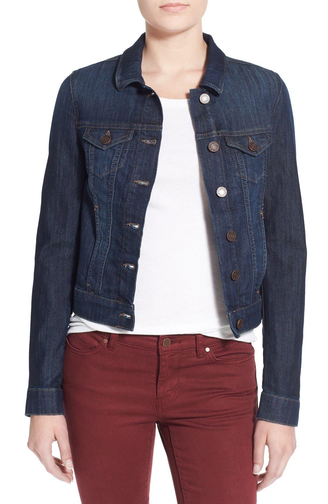 Alternate Image 1 Selected - Mavi Jeans 'Samantha' Denim Jacket
