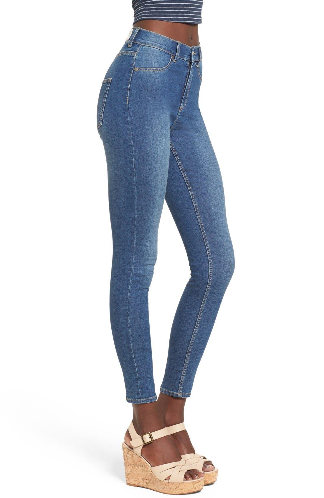 Alternate Image 3  - Cheap Monday 'High Spray' High Rise Skinny Jeans