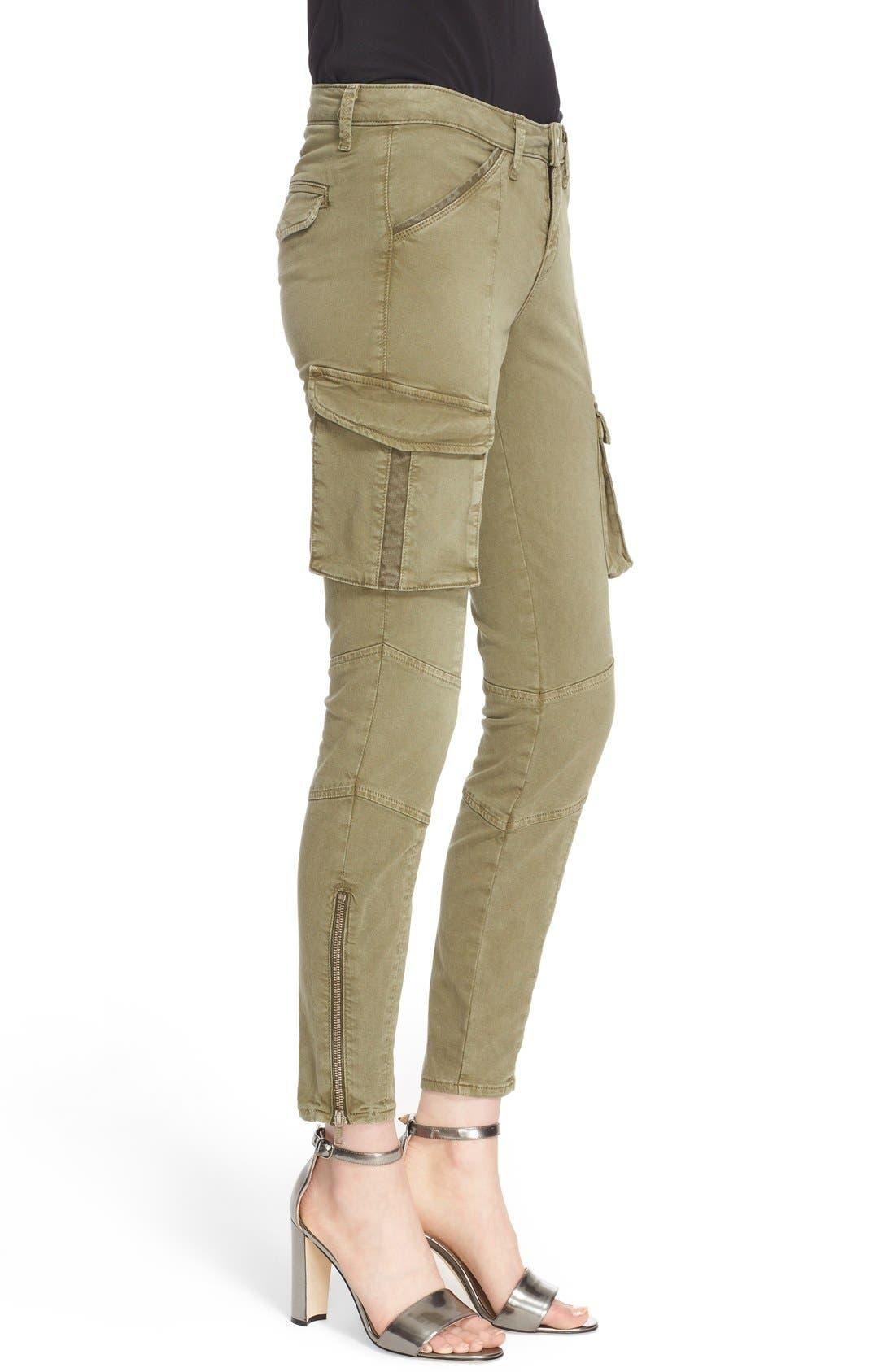 Alternate Image 3  - L'AGENCE Skinny Cargo Pants