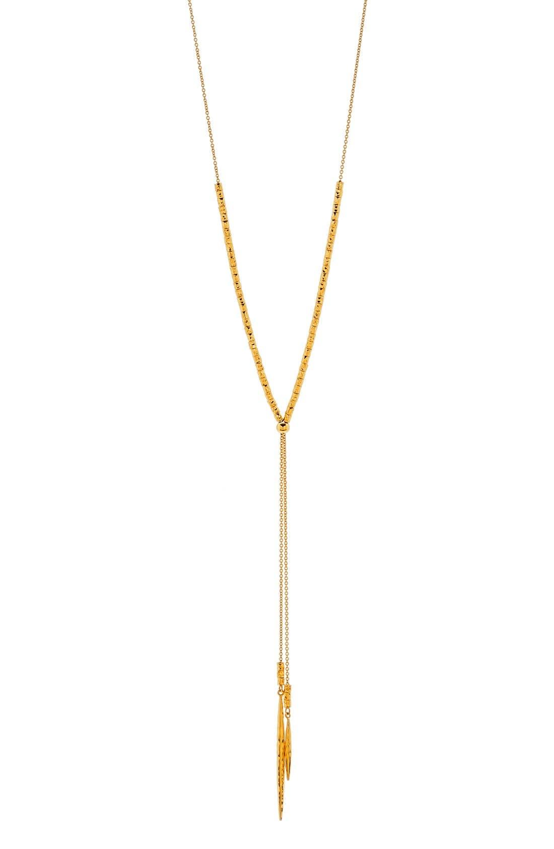 Main Image - gorjana Laguna Adjustable Lariat Necklace