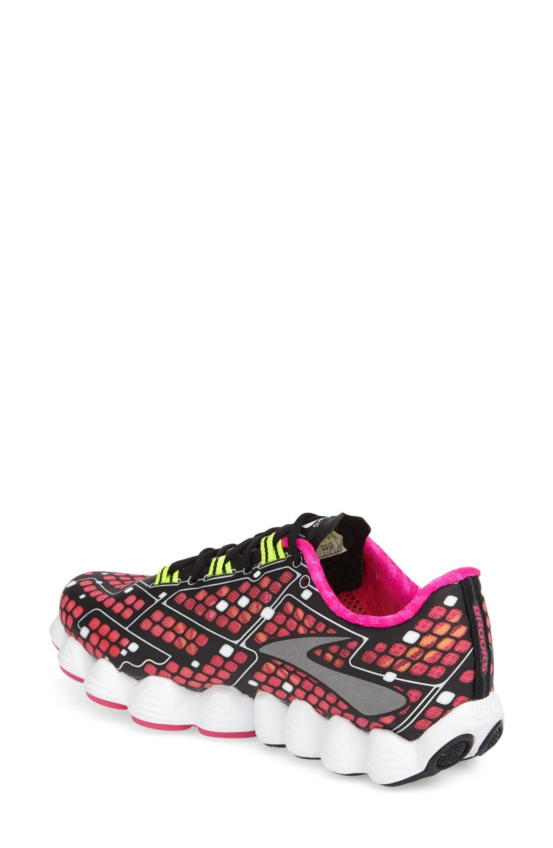 'Neuro' Running Shoe,                             Alternate thumbnail 2, color,                             Pink/ Black