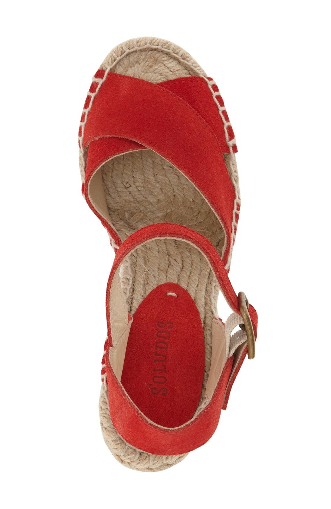 Alternate Image 3  - Soludos Espadrille Wedge Sandal (Women)