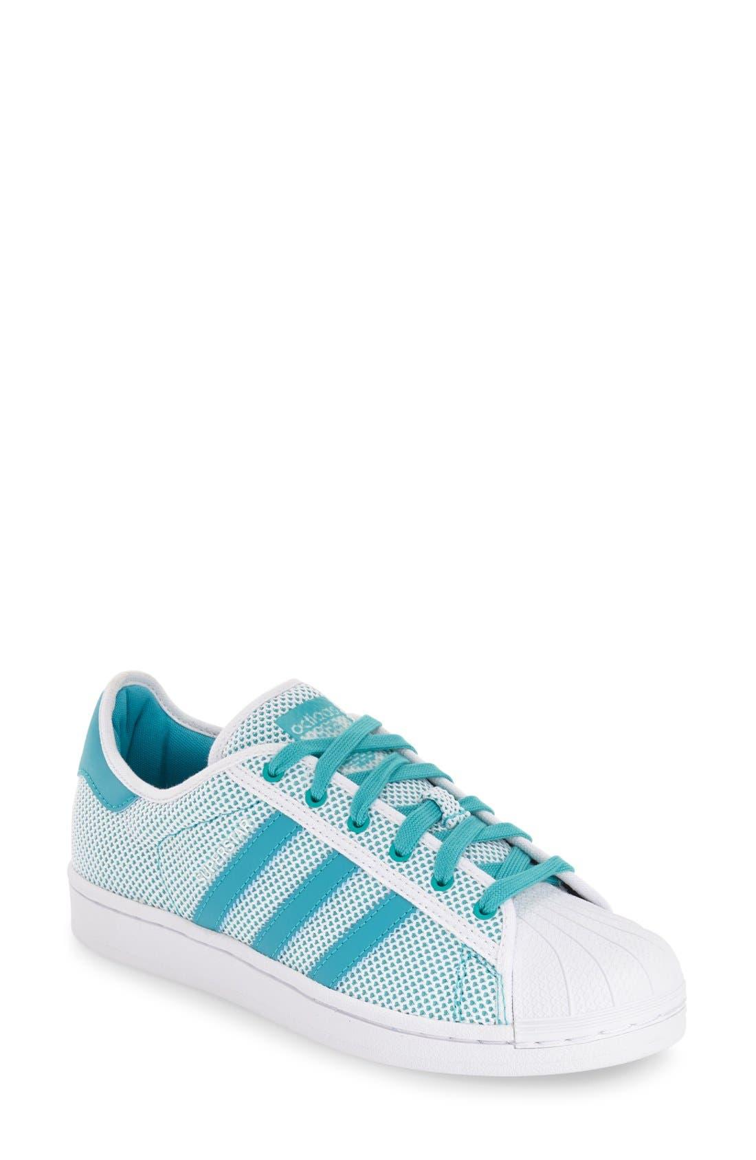 Alternate Image 1 Selected - adidas 'Superstar ADICOLOR' Sneaker (Women)