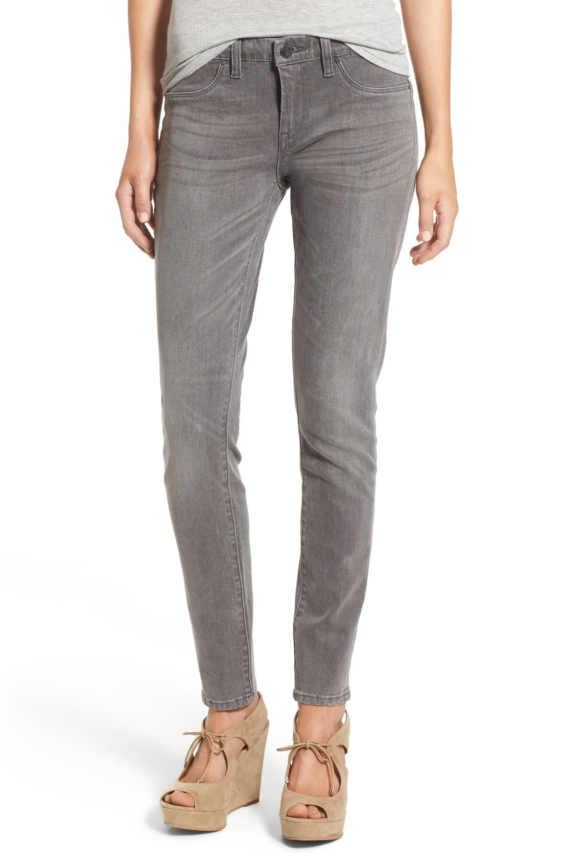 Alternate Image 1 Selected - BLANKNYC Skinny Jeans (Fifty Shades)