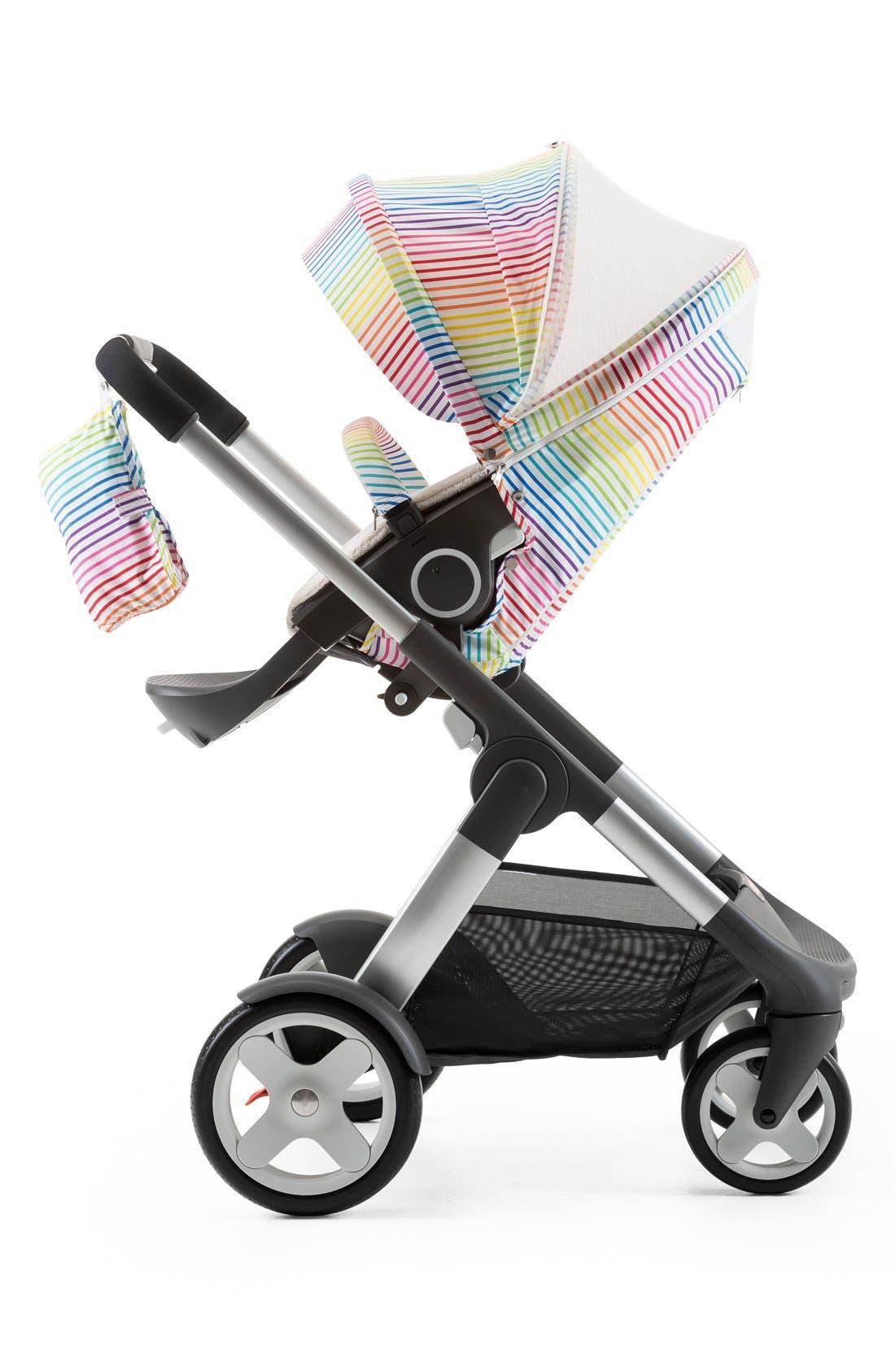 'Xplory<sup>®</sup> Stroller Summer Kit' Shade Set,                             Alternate thumbnail 4, color,                             Multi Stripe