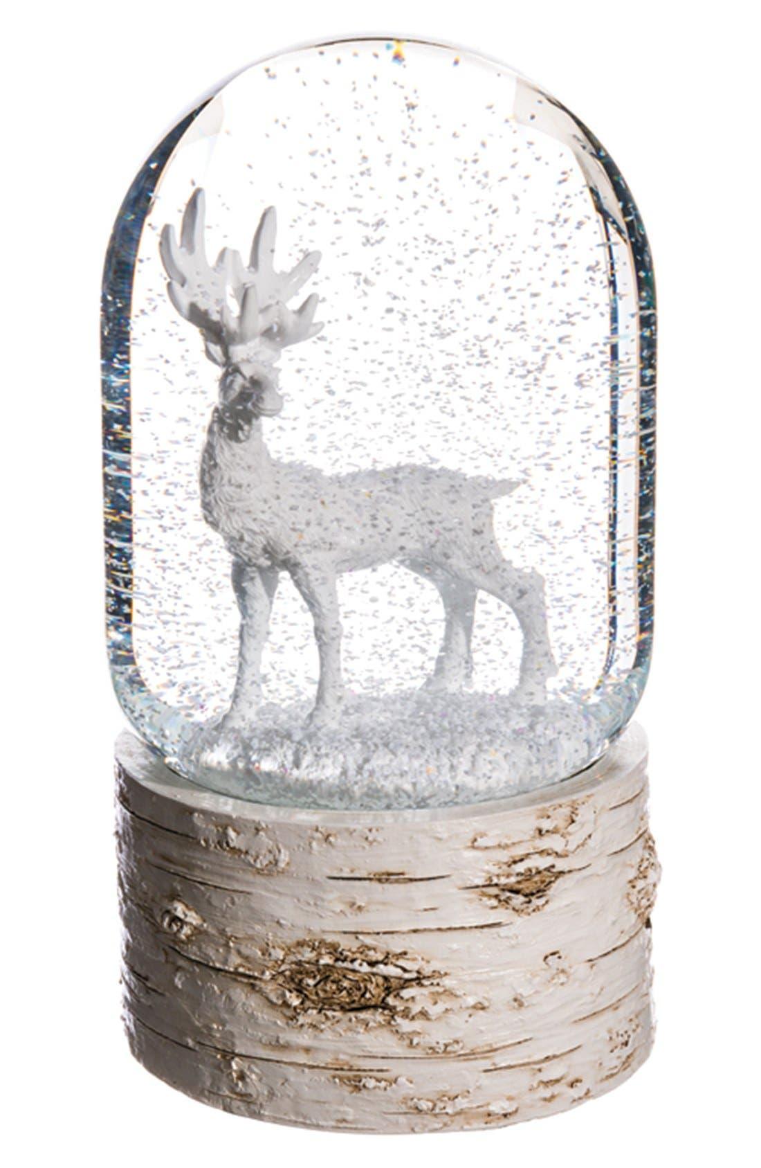 Main Image - ALLSTATE Reindeer Musical Snow Globe