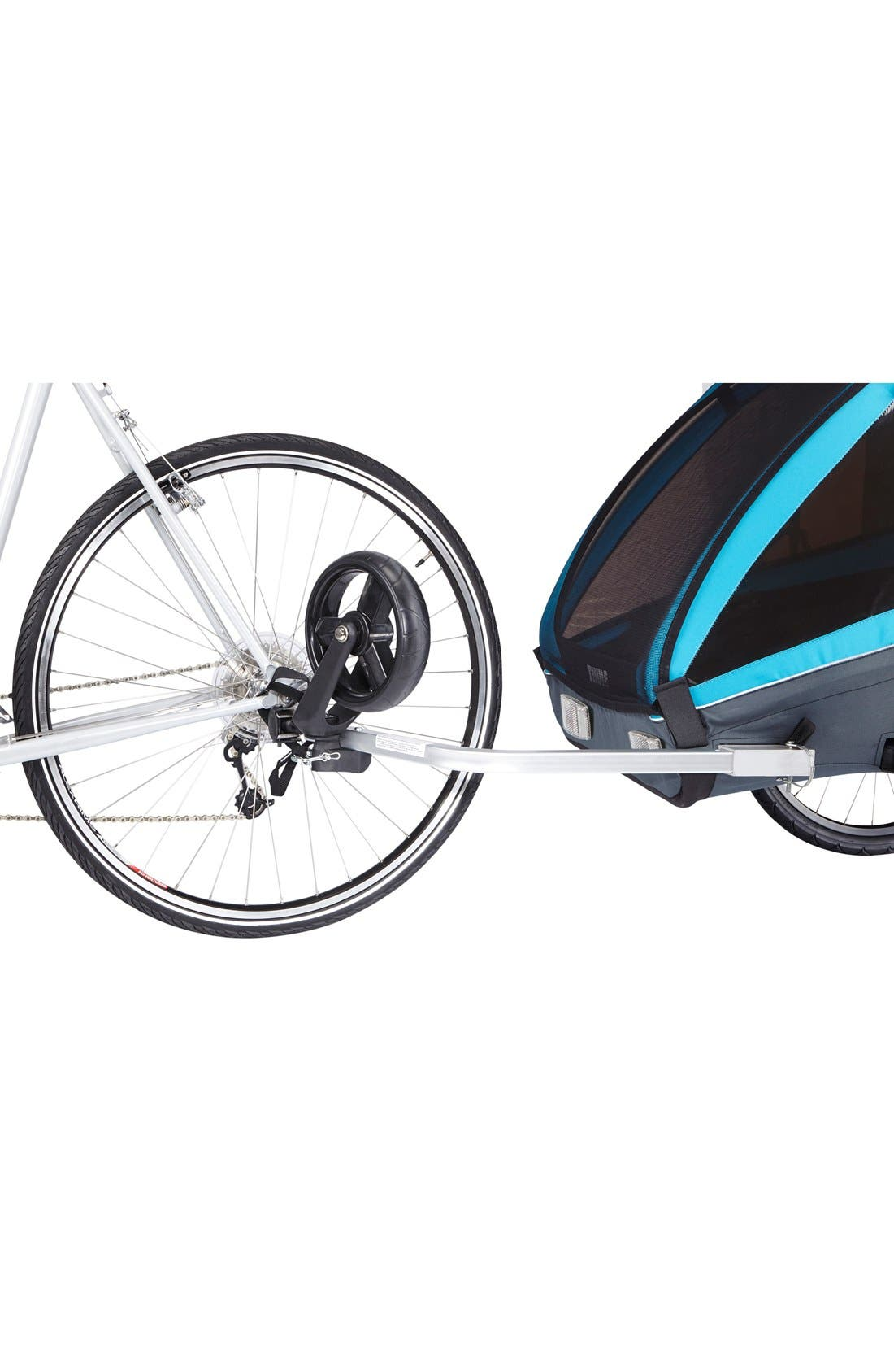 Coaster XT Double Seat Bike Trailer,                             Alternate thumbnail 7, color,                             Blue