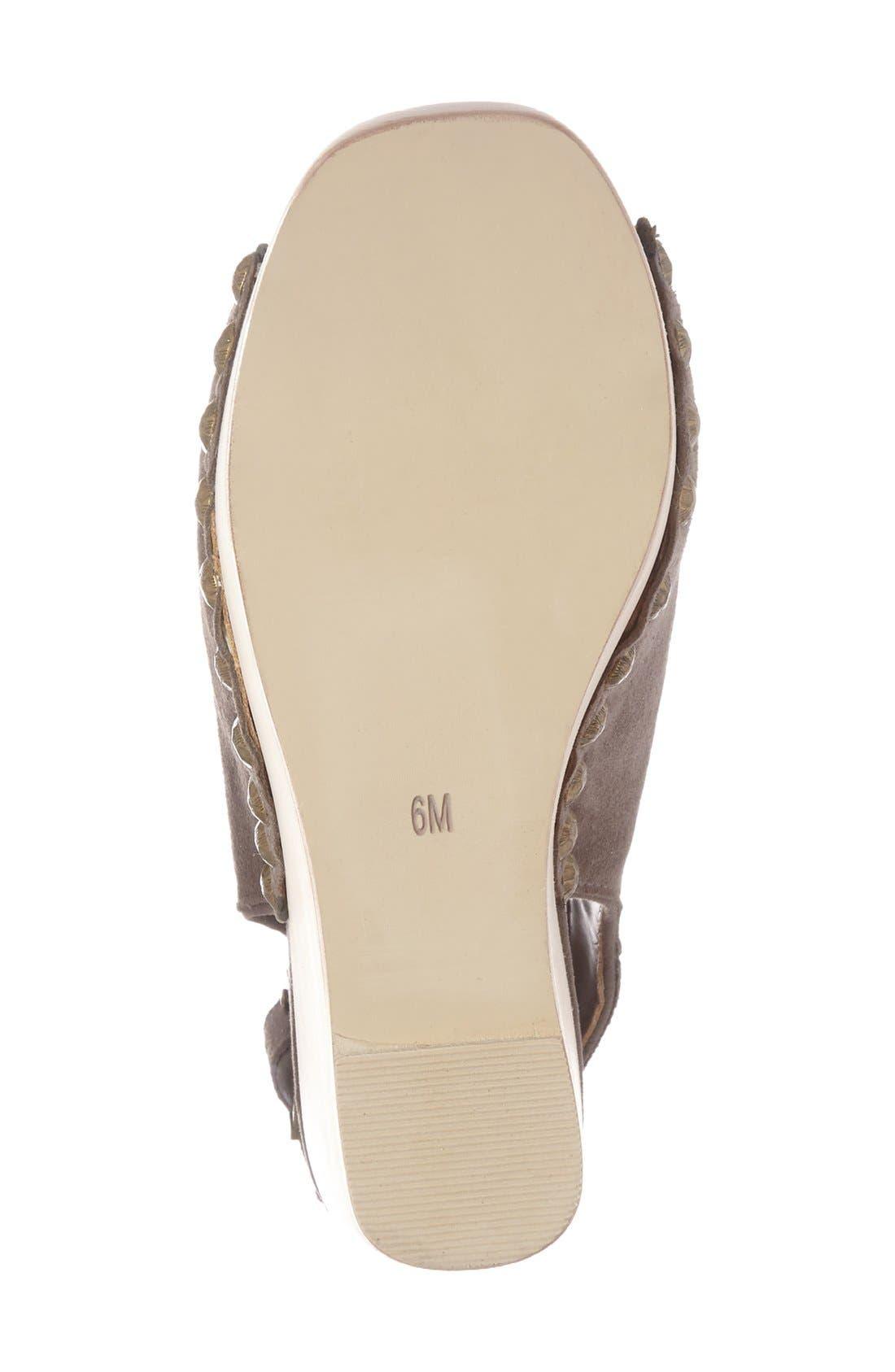 Alternate Image 4  - Jeffrey Campbell 'Snick' Platform Sandal