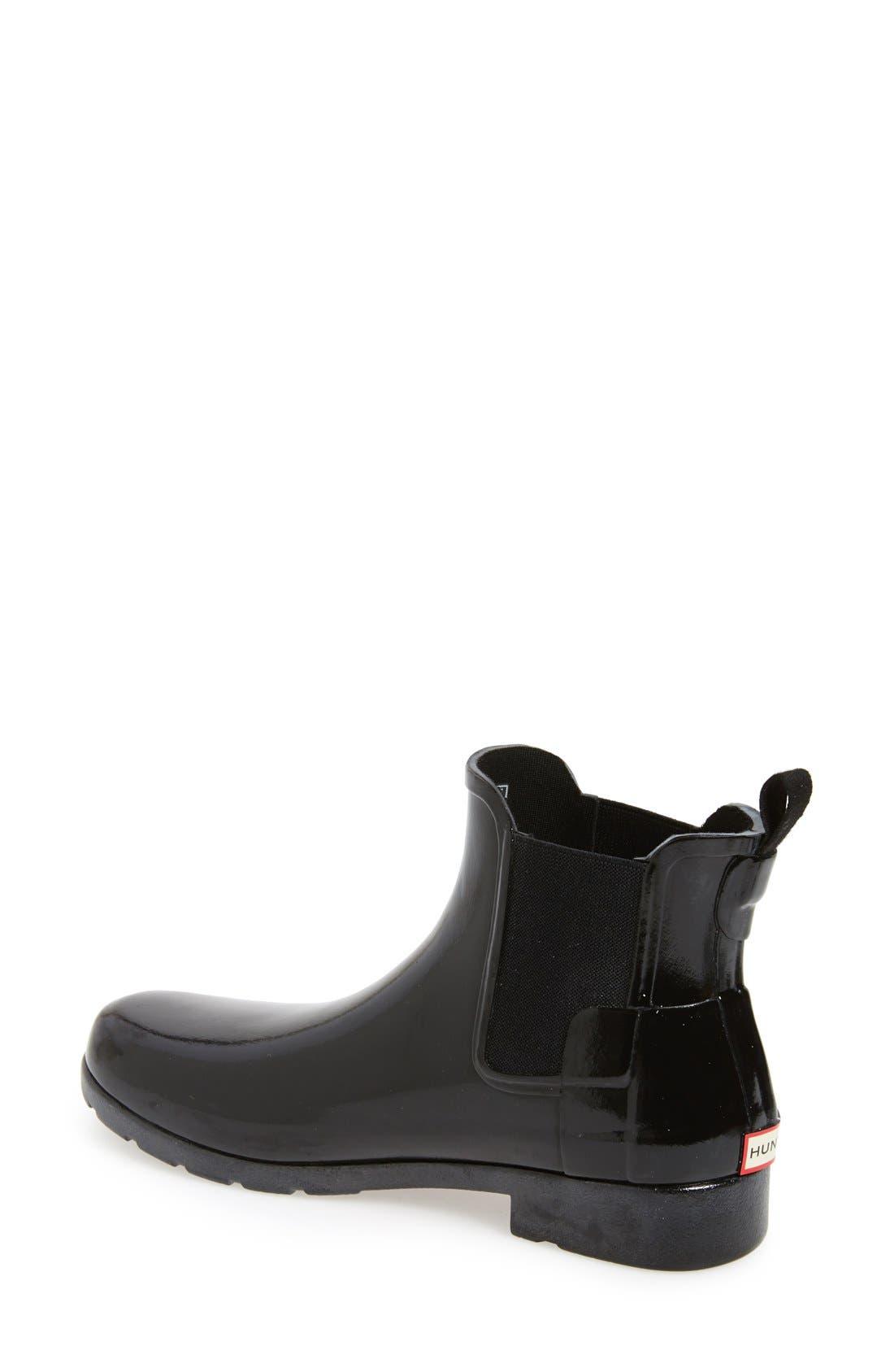 Alternate Image 2  - Hunter 'Original Refined' Chelsea Rain Boot (Women)