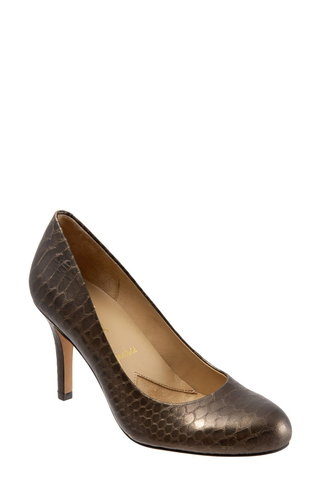 Alternate Image 1 Selected - Trotters 'Signature Gigi' Round Toe Pump (Women)