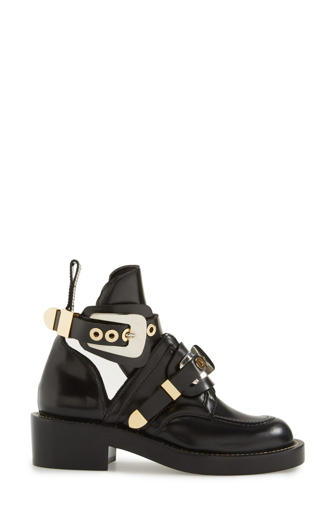 Alternate Image 3  - Balenciaga Cutout Buckle Boot (Women)