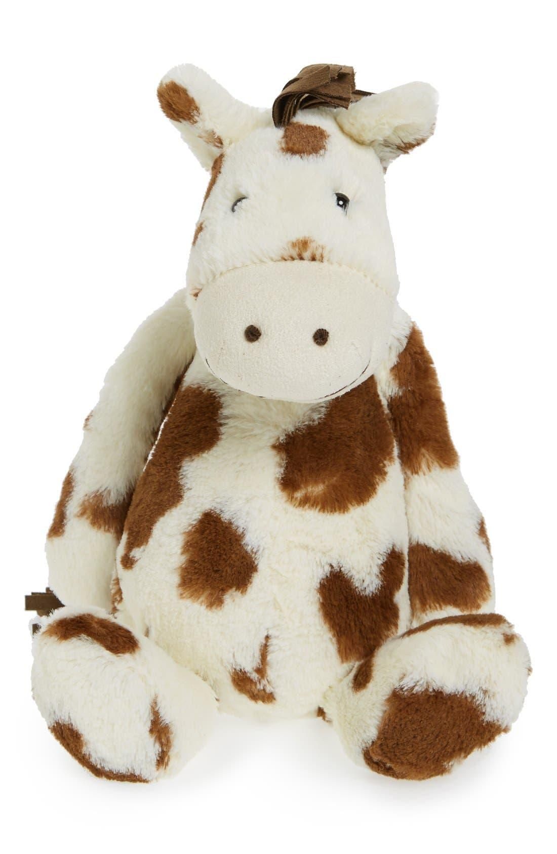'Medium Bashful Pony' Stuffed Animal,                         Main,                         color, Cream/Tan