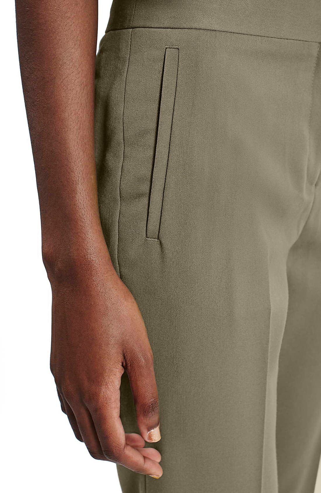 Alternate Image 5  - Topshop Crop Fitted Trousers