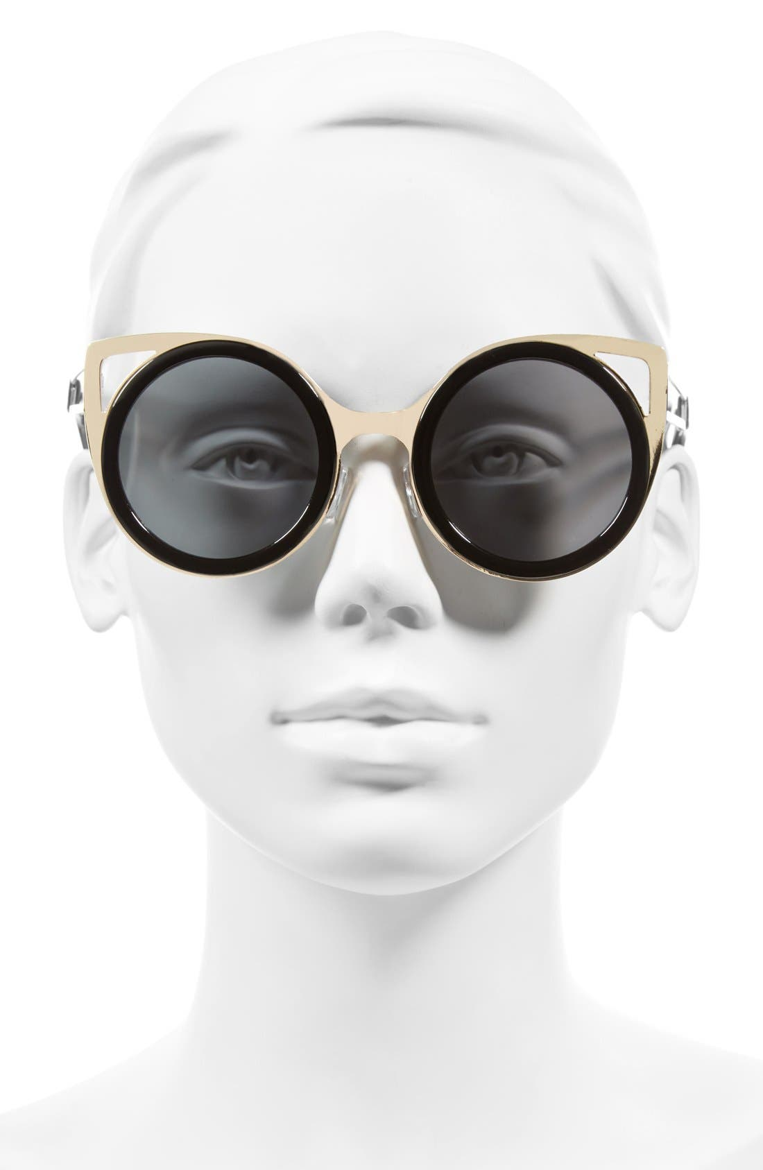 Alternate Image 2  - A.J. Morgan 'Cheshire' 50mm Round Sunglasses
