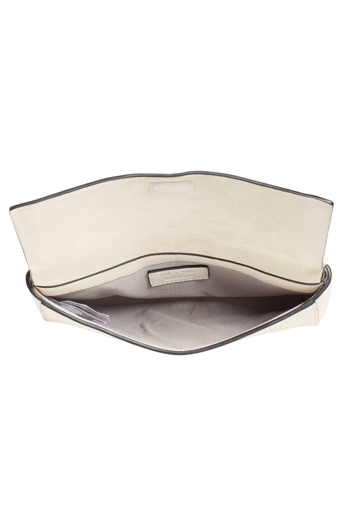 Alternate Image 4  - rag & bone 'Mini Aston' Leather Crossbody Bag