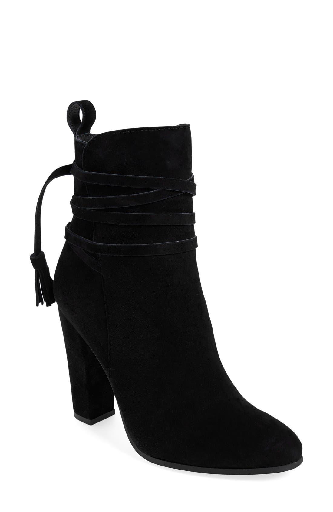 Alternate Image 1 Selected - Steve Madden 'Glorria' Block Heel Bootie (Women)