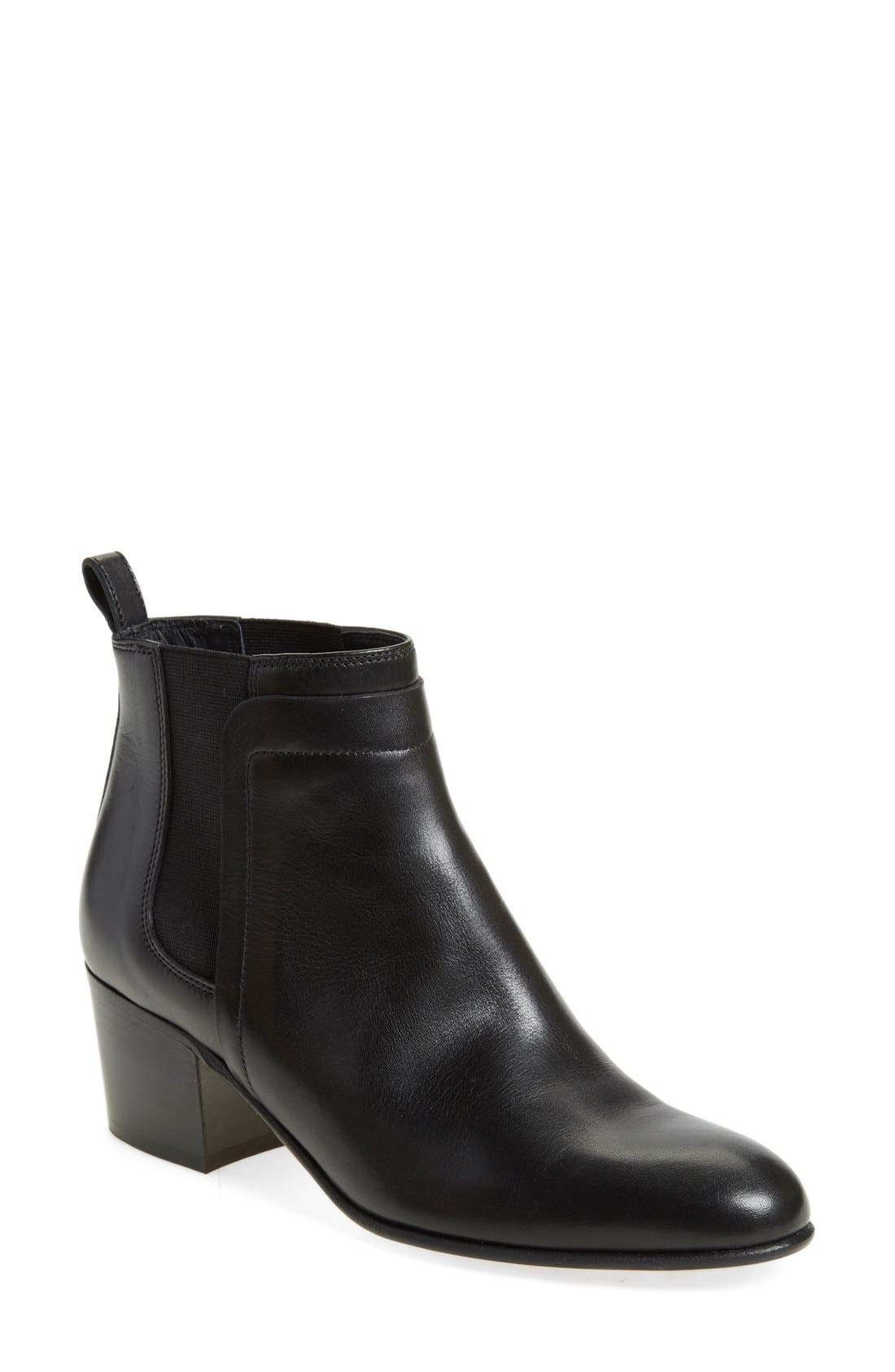 Alternate Image 1 Selected - Vince 'Hallie' Round Toe Bootie (Women)