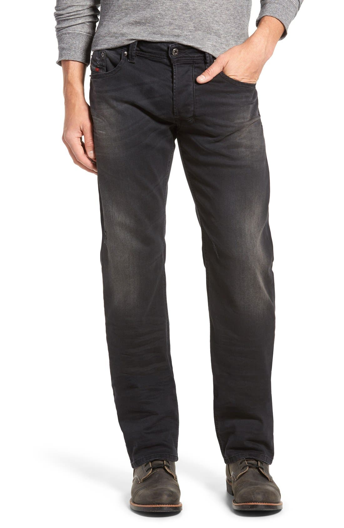 DIESEL® 'Larkee' Straight Fit Jeans (0854A)