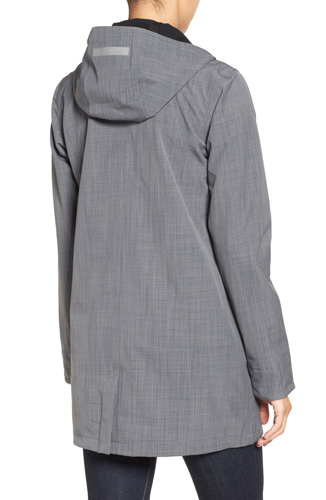Alternate Image 2  - Ilse Jacobsen Hooded Raincoat