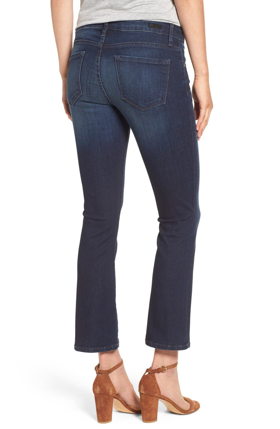 Alternate Image 2  - KUT from the Kloth 'Reese' Crop Flare Leg Jeans (Security)