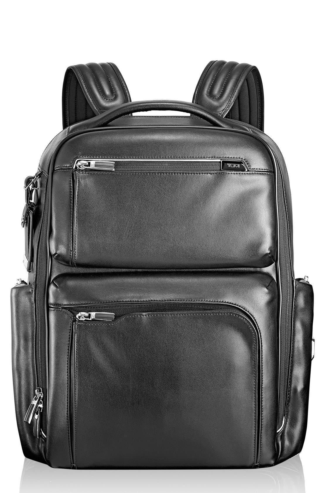 Tumi 'Arrivé - Bradley' Calfskin Leather Backpack