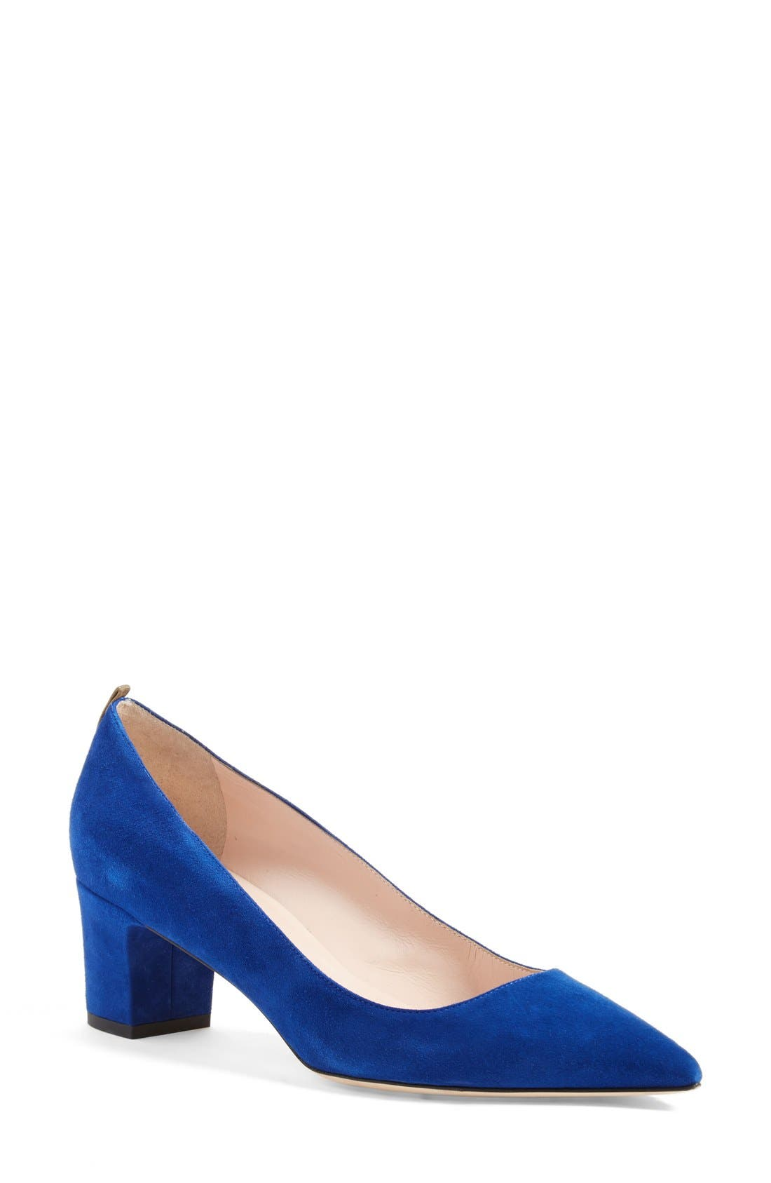 Alternate Image 1 Selected - SJP by Sarah Jessica Parker 'Katrina' Pointy Toe Block Heel Pump (Women)