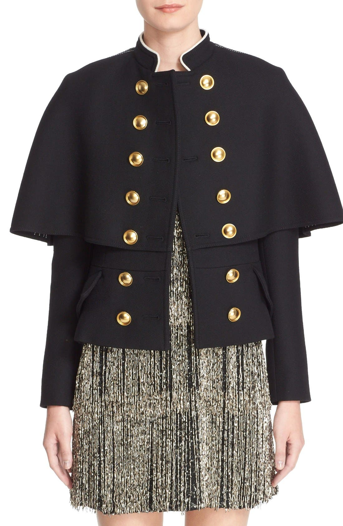 Burberry Prorsum Military Cape Coat | Nordstrom