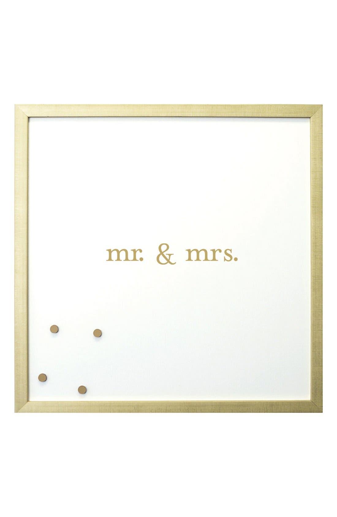 Petal Lane 'Mr. & Mrs.' Magnet Board
